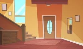 Interiore del fumetto Fotografie Stock Libere da Diritti