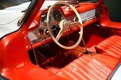 Interiore del Mercedes-benz 300sl Immagini Stock