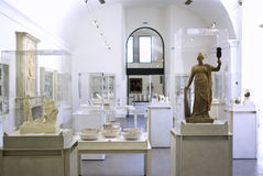 Interiore del museo Immagine Stock
