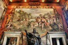 Interiore del museo di Capitoline, Roma Fotografia Stock