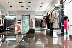 Interiore del negozio Fotografia Stock