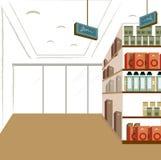 Interiore del negozio royalty illustrazione gratis