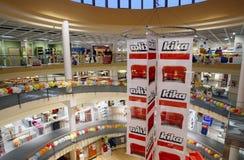 Interiore del negozio di mobili di Kika Fotografia Stock Libera da Diritti