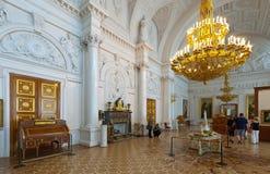 Interiore del palazzo di inverno. St Petersburg Fotografia Stock