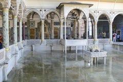 Interiore del palazzo di Topkapi Fotografia Stock