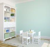 Interiore del playroom. Fotografia Stock Libera da Diritti