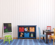 Interiore del playroom. Fotografie Stock