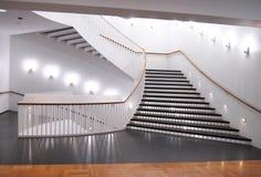 Interiore del pozzo delle scale Immagini Stock