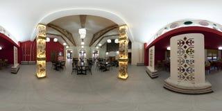 Interiore del ristorante Immagine Stock Libera da Diritti