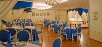 Interiore del ristorante Fotografie Stock
