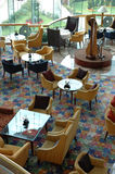Interiore del ristorante dell'hotel Fotografie Stock Libere da Diritti