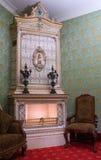 Interiore del salone fotografie stock
