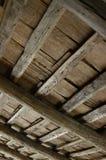 Interiore del tetto della cabina immagine stock
