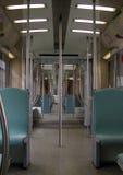 Interiore del treno Fotografie Stock Libere da Diritti