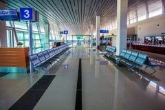 Interiore dell'aeroporto fotografie stock libere da diritti