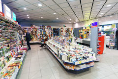 Interiore dell'aeroporto Immagini Stock