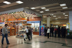 Interiore dell'aeroporto internazionale di Hurghada Immagine Stock