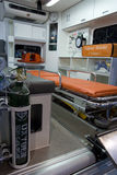 Interiore dell'ambulanza Fotografia Stock Libera da Diritti