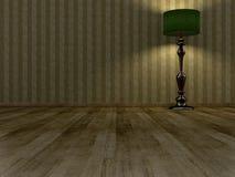 Interiore dell'annata Immagini Stock