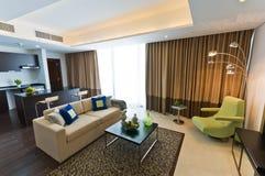 Interiore dell'appartamento moderno Fotografia Stock