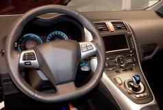 Interiore dell'automobile Immagini Stock