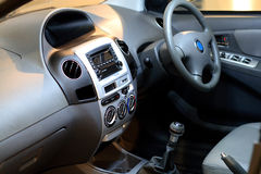 Interiore dell'automobile Fotografie Stock Libere da Diritti