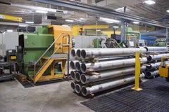 Interiore dell'industria di costruzioni meccaniche Immagine Stock