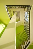Interiore della Camera con le scale moderne Immagine Stock Libera da Diritti