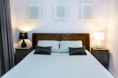 Interiore della camera da letto Fotografie Stock
