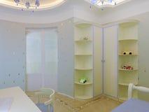 Interiore della camera da letto del `s del bambino royalty illustrazione gratis