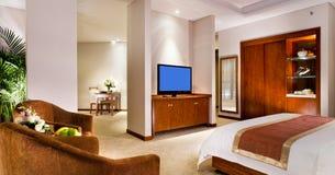 Interiore della camera di albergo Fotografia Stock