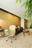 Interiore della camera di albergo immagine stock libera da diritti