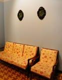 Interiore della casa del Malay Immagini Stock
