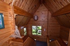 Interiore della casetta del ghiacciaio di Fox - Nuova Zelanda Immagine Stock