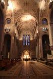 Interiore della cattedrale Immagine Stock Libera da Diritti