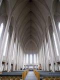 Interiore della cattedrale Fotografie Stock Libere da Diritti