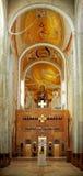 Interiore della cattedrale del cattolico greco a Cluj Napoca Fotografie Stock Libere da Diritti