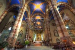 Interiore della cattedrale del San Lorenzo. Immagine Stock Libera da Diritti