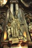 Interiore della cattedrale della st Nicolas Immagine Stock Libera da Diritti