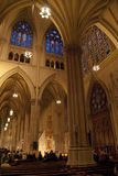 Interiore della cattedrale della st Patrick Fotografia Stock Libera da Diritti