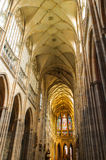 Interiore della cattedrale della st Vitus Immagine Stock Libera da Diritti