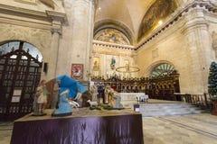 Interiore della cattedrale di Avana fotografie stock libere da diritti
