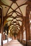 Interiore della cattedrale di Basilea Munster Fotografie Stock