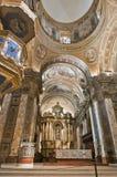 Interiore della cattedrale di Buenos Aires Fotografie Stock Libere da Diritti