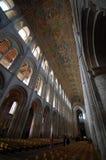 Interiore della cattedrale di Ely fotografie stock libere da diritti