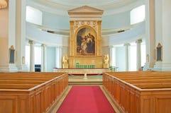 Interiore della cattedrale di Helinki Immagine Stock
