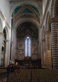Interiore della cattedrale di Orvieto, Umbria, Italia Fotografia Stock Libera da Diritti