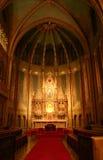 Interiore della chiesa fotografie stock libere da diritti