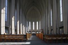 Interiore della chiesa Immagine Stock Libera da Diritti