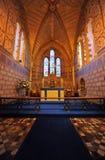 Interiore della chiesa del saxon del castello di Dover Immagine Stock